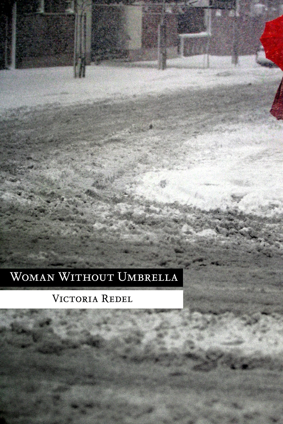 Woman without Umbrella cover