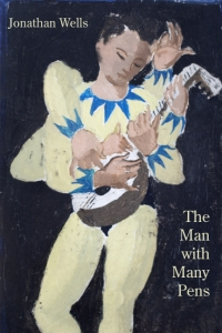 The Man With Many Pens cover